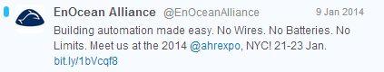 EnOcean Alliance Twitter Screenshot_2