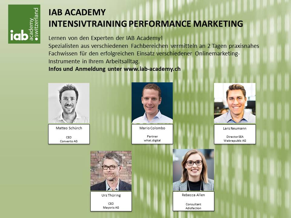 IAB Performance Marketing